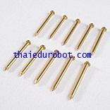 34220 ตะปูทองเหลือง ยาว 2 cm เส้นผ่าศูนย์กลาง 1.7 mm ชุดละ 100 ตัว