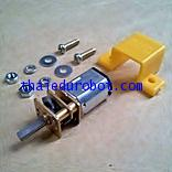 61018 Micro Motor เฟืองเกียร์โลหะ อัตราทด 1:30