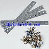 70164 ชุดข้อต่อ แผ่นโลหะ 4 ชิ้น (Universal Metal Joint Parts)