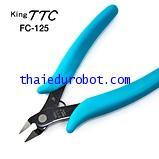 317 คีมตัดพลาสติก King TTC FC-125 (Made in Japan)