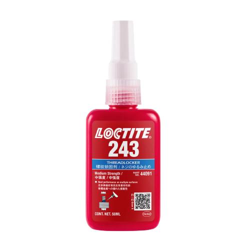 Loctite 243 Medium Strength Oil Tolerant Threadlocker Blue 50ml Bottle