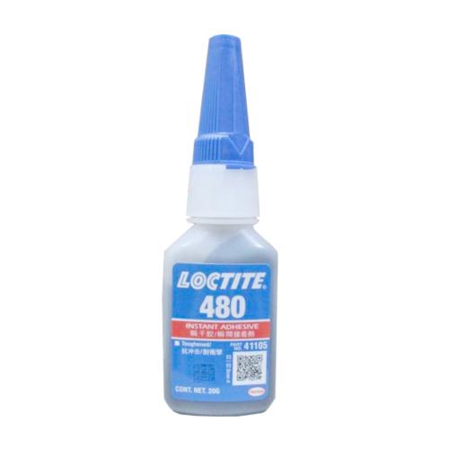 Loctite 480 Toughened Instant Adhesive Black 20 g Bottle