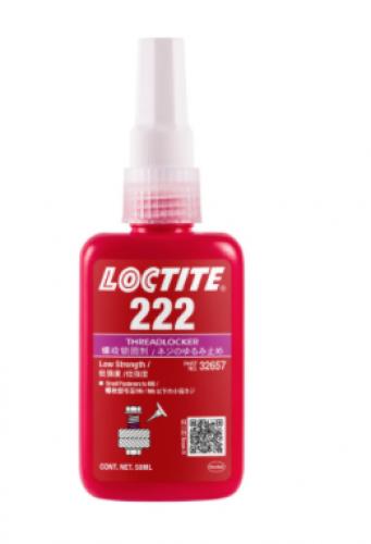 Loctite 222 Threadlocker Anaerobic Adhesive Purple 50ml Bottle