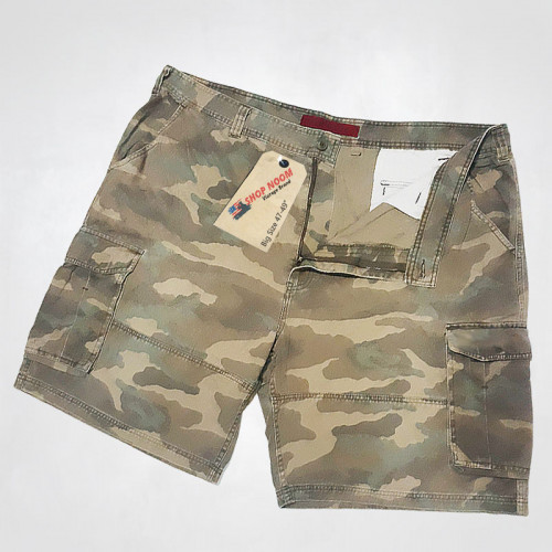 กางเกงลายทหาร กางเกงผู้ชายอ้วน รุ่น 626BLUE เอวยักษ์ แฟชั่นวินเทจชาย