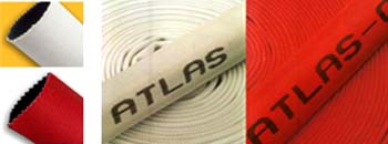 สายน้ำดับเพลิชนิดงผ้าใบ ยี่ห้อ ATLAS