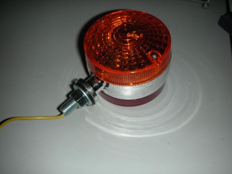 Signal Lamp 12V มีสองด้านสองสี ไฟไม่กระพริบ