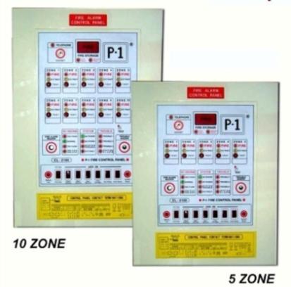 10 Zone Fire Alarm Control Panel รุ่น FA-510 ยี่ห้อ Cemen