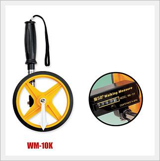 ล้อหมุนวัดระยะทาง รุ่น WM-10K (Walking Measurement)