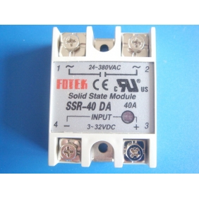 Single Phase Solid State Relay ,Input 3-32Vdc ,Output 5-60Vdc ,กระแส 5-10A รุ่น SSR-DD Serie