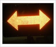 ป้ายไฟเตือนอุบัติเหตุ รุ่น Full LED (Accident Protection Light) 12VDC, 24VDC, 220V