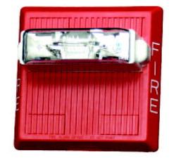 Multi-tone Horn 85-100 db./ Srobe Light (Red) รุ่น MTH-MC-R ยี่ห้อ Siemens