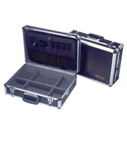 กระเป๋าเครื่องมือช่างไฟฟ้าอีเลคทรอนิคส์ ชนิดอลูมิเนียมสีดำ รุ่น GTK-820 ยี่้ห้อ Goldsun
