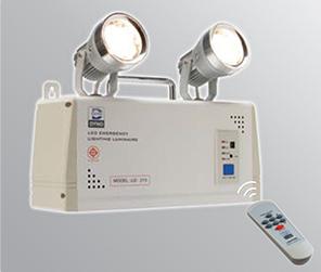 ไฟฉุกเฉินหลอด LED 35Wx2 ,7Ah-12V สำรองไฟ 4 ชั่วโมง รุ่น LD-115 ยี่ห้อ DYNO