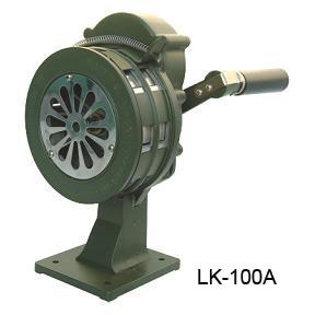 ไซเรนมือหมุนแบบยึดโต๊ะความดัง 110 dB รุ่น LK100A ยี่ห้อ Lion King
