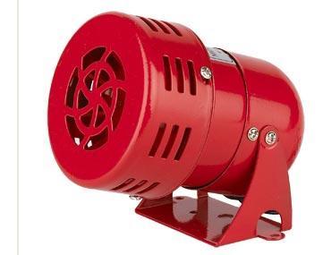 Mini Motor Siren 40W-114db แรงดันไฟ 12VDC, 24VDC, 220VAC รุ่น MS-190