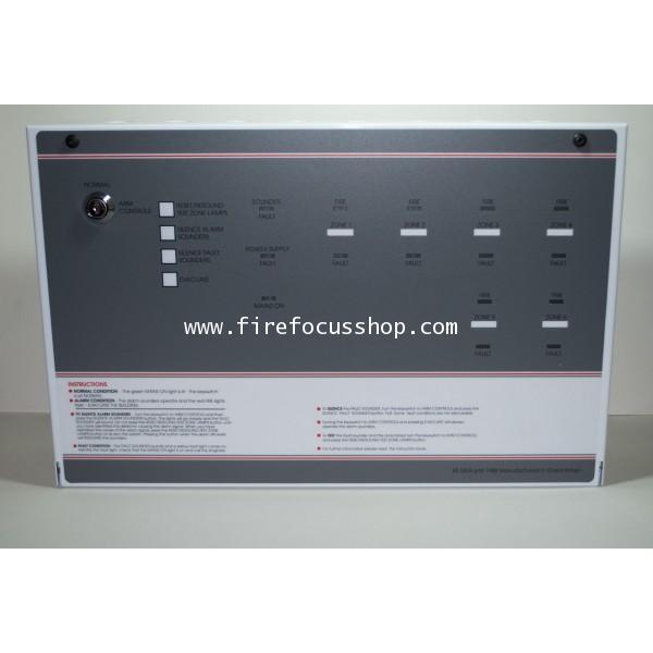 ตู้ควบคุมแจ้งเตือนเพลิงไหม้(Fire Alarm Control Panel) 6 โซน รุ่น FF384-2+1 ยี่ห้อ Will