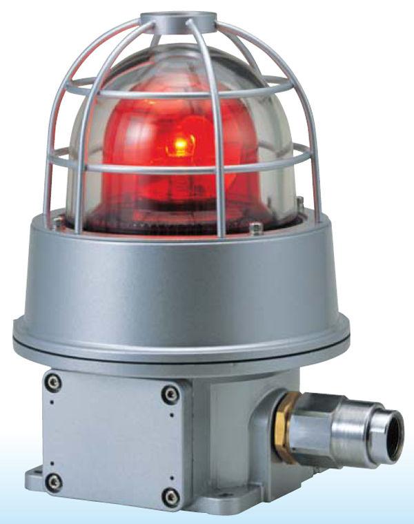 ไฟหมุนกันระเบิด 12VDC,24VDC,110VAC และ 220VAC รุ่น RES-A ยี่ห้อ Patlite