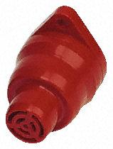 sounder,trumpet,single tone,24Vdc,80dB,trumpet top,red รุ่น AE30M-TT-02 ยี่ห้อ Moflash