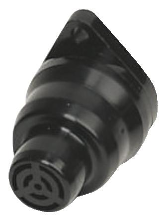 sounder,trumpet,single tone,12Vdc,76dB,trumpet top,black รุ่น AE30M-TT-01 ยี่ห้อ Moflash
