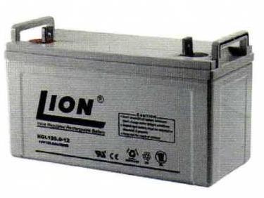 แบตเตอรี่แห้งชนิดตะกั่วกรด ขนาด 12V-120Ah รุ่น ยี่ห้อ Lion