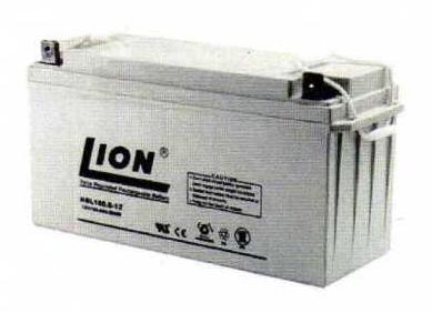 แบตเตอรี่แห้งชนิดตะกั่วกรด ขนาด 12V-150Ah รุ่น ยี่ห้อ Lion