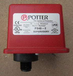 LOW AIR PRESSURE SWITCH รุ่น PS40-1 ยี่ห้อ POTTER ELECTIC