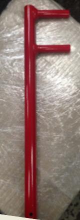 ประแจตัว F สำหรับขันแองเกิ้ลวาล์ว 2.5 นิ้ว แบบด้ามยาวสีแดง