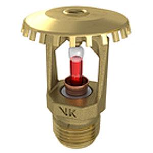 VIKING Sprinkler VK200 68°C 155°F UP BR K8.0 17/32 Inch. orifice