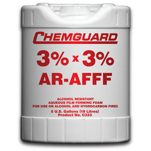 C333 3 AR-AFFF Foam Con., UL listed, 19 ltr/drum 55 Gallons