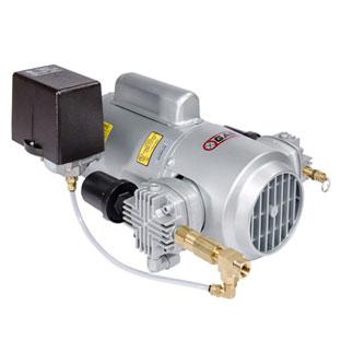 เครื่องอัดอากาศแบบลูกสูบ 4LCB-46S-M450GX Air Com.1/2 HP 115/230V AC, 60Hz, 1 Phase c/w Air Regulator
