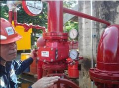 งานบริการตรวจเช็คและซ่อมแซมระบบไฟร์ปั๊ม (Fire Pump)