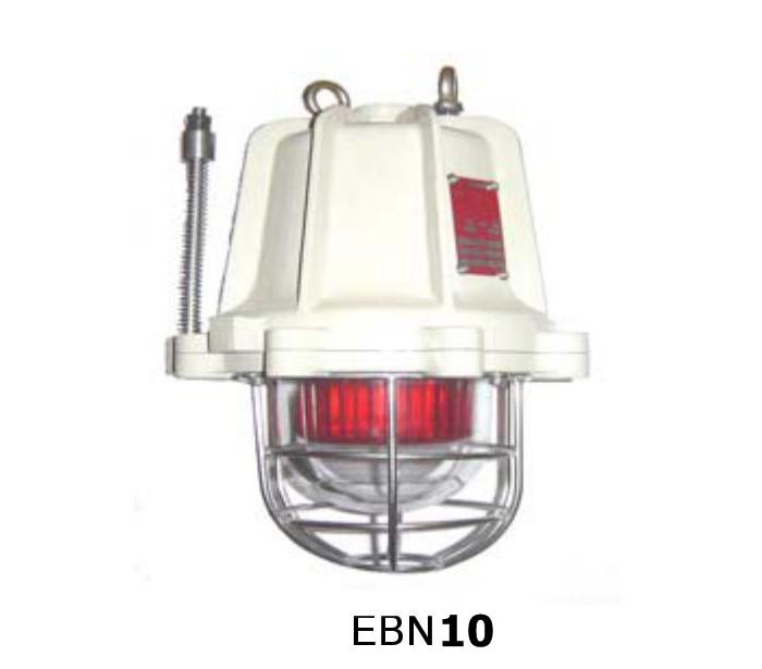 ไฟหมุนเตือนภัยกันระเบิด EBN Lamp10 รุ่น EBD10 ยี่ห้อ BOSSTON