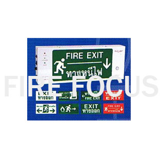 กล่องป้ายบอกทางหนีไฟ รุ่นEX-101(NB) ยี่ห้อAUTOLIGHT