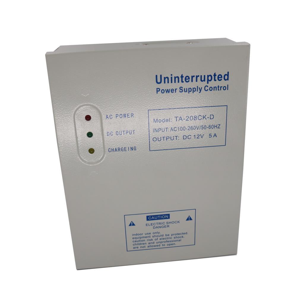 Universal Power Supply Control 12V 5A รุ่น TA-208CK-D