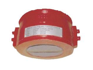 เช็ควาล์ว Duo check valve, wafer type, ductile iron body, UL./FM 300 psi., w.p. ANSI 150 รุ่น DDCV-1