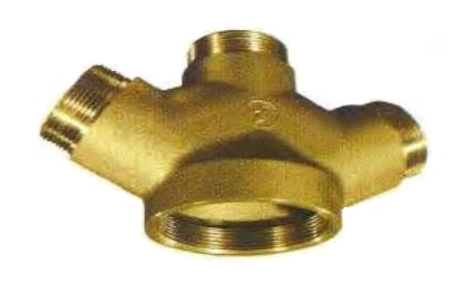 FIRE HYDRANT (ROOF MANIFOLD) Y TYPE Cast Brass รุ่น 5881 ยี่ห้อ POTTER ROEMER