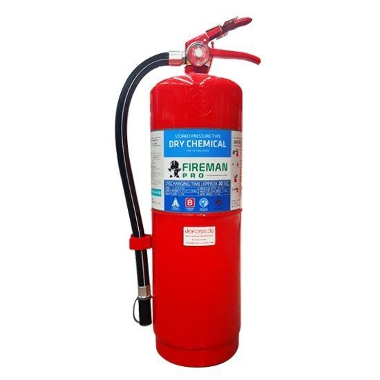 เครื่องดับเพลิงเคมีแห้ง Fire Rating 4A-5B ขนาด 20 ปอนด์ ยี่ห้อ FIREMAN   มาตรฐาน มอก.332-2537