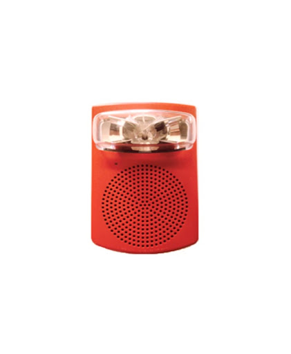 SIMPLEX Addressable Horn with strobe intensity selectable15,30,75,110CD.Wall model.49SV-APPLW