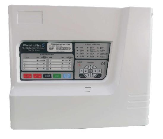 ตู้ควบคุมแจ้งเหตุเพลิงไหม้ระบบ Conventional ขนาด 8 โซน รุ่น WA5 ยี่ห้อ FIAKO ผลิตตามมาตรฐาน EN54