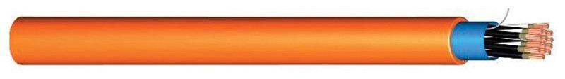 สายทนไฟ FRC สายสีส้ม CU/MGT/XLPE/OSCR/LSHF-AT-AR-UV 1x2Cx2.5 SQ.MM [MXOL-AT-AR-UV] ยี่ห้อ DRAKA