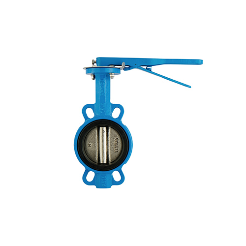 VALTEC Butterfly Valve Wafer Cast Iron Body Ductile Iron Disc Lever Operate PN16 Model. BW-10231