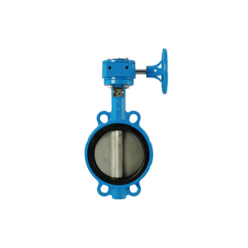 VALTEC Butterfly Valve Wafer Cast Iron Body Stainless Steel Disc Gear Operate PN16 model. BW-10331