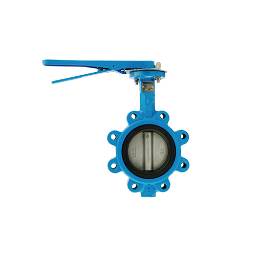 VALTEC Butterfly Valve Lug Cast Iron Body Aluminium Bronze Disc Lever Operate PN16 model. BL-20431