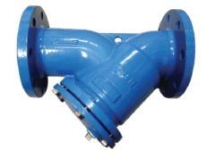VALTEC Y-Strainer Cast Iron Body PN 16 flange, 232 psi model. YS-70300
