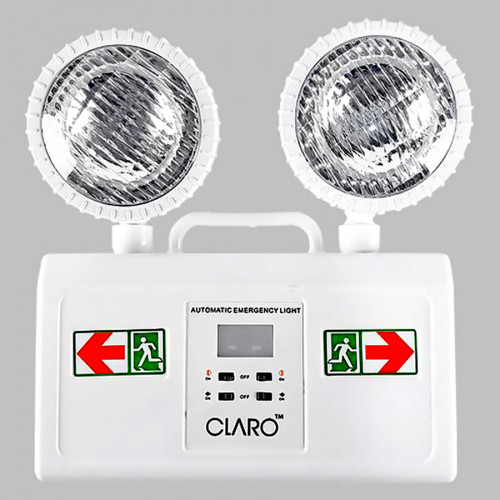 โคมไฟฉุกเฉิน COMBO LED Emergency Light  สำรองไฟใช้ได้นาน 8 ชม.  Lamp Power 2.4 W