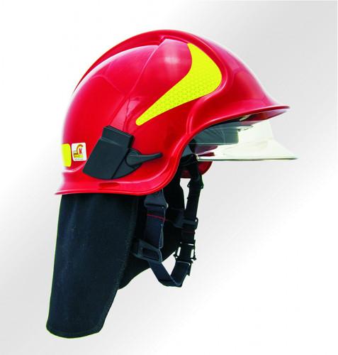 หมวกดับเพลิง Calisia Vulcan (CV103) มาตรฐาน EN443:2008 ยี่ห้อ IST