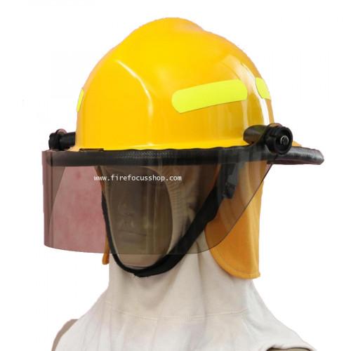 หมวกดับเพลิง ตรงตามมาตรฐาน รุ่น GF-911
