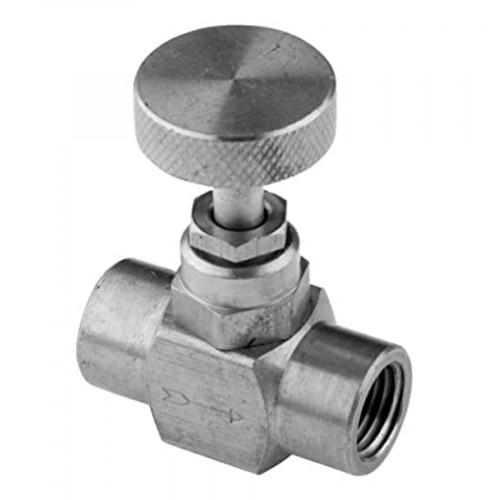 TRERICE Pressure Gauge Brass Needle,1/4 Inch. NPT Connection  Model. 735-2