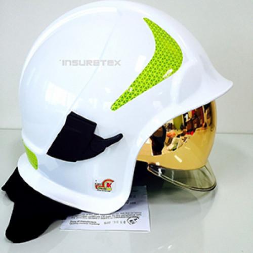 หมวกดับเพลิง Calisia Vulcan (CV102) มาตรฐาน EN443:2008 ยี่ห้อ IST
