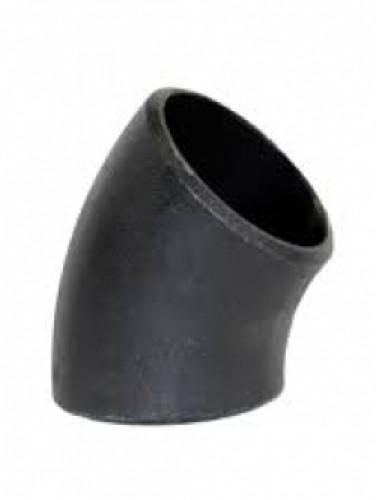 ข้องอ 45° เหล็กเชื่อม SCH-40 DIAMETER 18 นิ้ว เเบบมีตะเข็บ